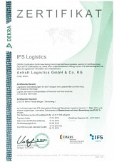IFS Logistics – Anhalt Logistics at a high quality level