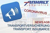 Information about transport logistic insurance regarding coronavirus (COVID-19)