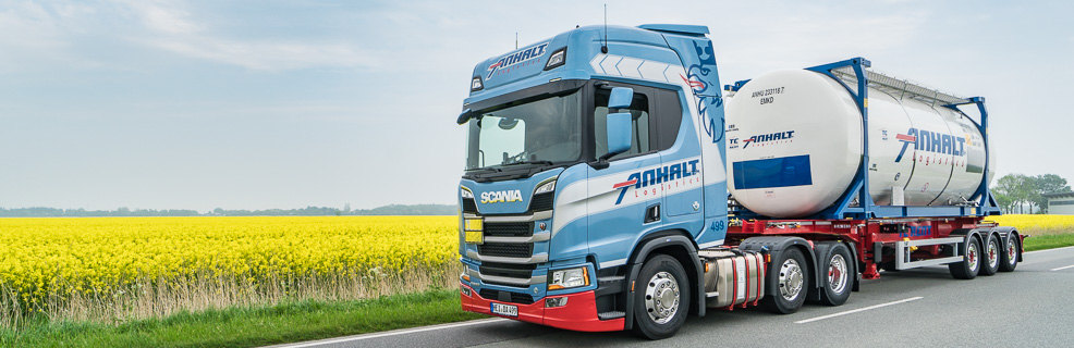 Welcome at Anhalt Logistics